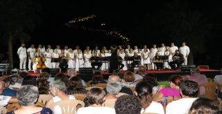 Gazipaşada Türk Sanat Müziği Konseri Büyüledi