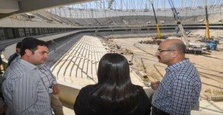 Yeni Stadın İnşaatı Sürüyor