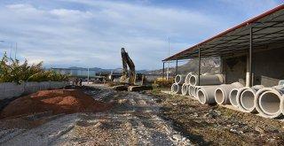 Alanyada 5 Mahallenin Yağmur Suyu Sorunu Çözülüyor