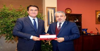 Ak Parti İl Başkanı Salmandan Dündara Ziyaret