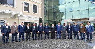 Ak Parti Bursa Teşkilatından Başkan Dündara Hayırlı Olsun Ziyareti