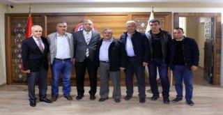 Minibüsçüler Kooparatifi Ve Orhad Yöneticilerinden Ziyaret