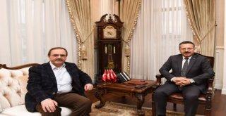 Başkan Şahinden Vali Aksoya Ziyaret