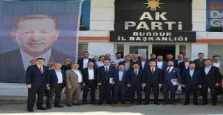Ak Parti Teşkilat Başkan Yardımcısı Özel, Burdurda