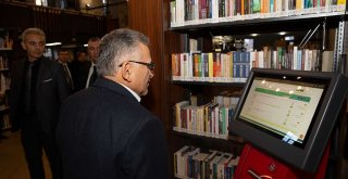 Şehir Kütüphanesi Törenle Açılıyor