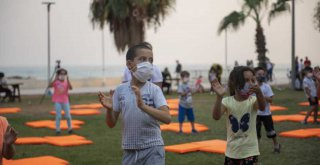 Mersin Büyükşehir, Disleksi Farkındalık Haftası'nda Çocukları Sahilde Buluşturdu