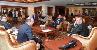 Polatlı Ticaret Odasından Başkan Yavaşa Hayırlı Olsun Ziyareti