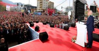Millet İttifakından Bursada Gövde Gösterisi