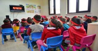 Yıldırımlı Miniklere Yangın Ve Deprem Eğitimi