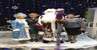 Ayaz Ata Ve Noel Baba Marmariste Buluşuyor