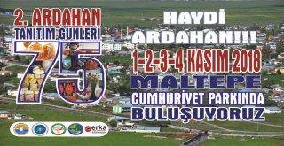 Ardahanlılar Maltepe Cumhuriyet Parkında Buluşacak