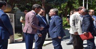 Sağlık Bakanı Yardımcısı Eldemir, Şehir Hastanesinde İncelemelerde Bulundu