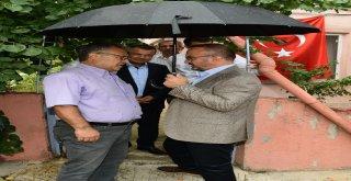 Ak Parti Grup Başkanvekili Turandan Gaziye Ziyaret
