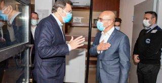 Hisarcıklıoğlu'ndan Başkan Soyer'e ziyaret