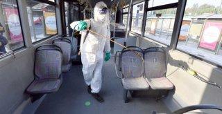 Toplu ulaşımda gün boyu dezenfeksiyon