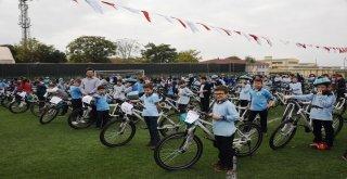 İzmitte 545 Öğrenci Bisikletine Kavuştu