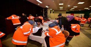 Anfa Personelinden Türk Kızılayına Kan Bağışı