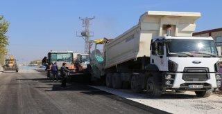Ereğli Belediyesi Osbde Asfalt Çalışmalarına Devam Ediyor