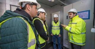 Harmandalı biyogaz tesisi ziyarete açıldı