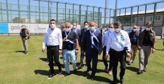 Başkan Aktaş'tan Şampiyonlara destek sözü