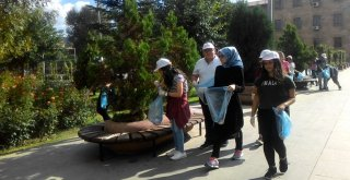 Gönüllü Temizlik Elçileri Çöp Topladı