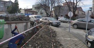 Ortahisarda Trafo Ve Elektrik Kabloları Yer Altına Alınıyor