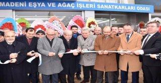 Başkan Albayrak Hizmet Binasının Açılış Törenine Katıldı