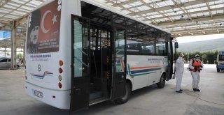 Bin 431 Özel Toplu Taşıma Aracı Dezenfekte Edildi