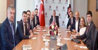 Evsid Yönetimi, İso Başkanı Bahçıvanı Ziyaret Ederek Faaliyetlerini Anlattı