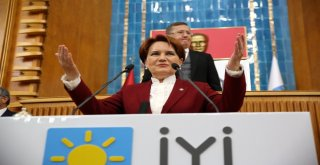İyi Parti Genel Başkanı Meral Akşener: