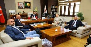 Avusturya Büyükelçisi Tılly, Serkayı Ziyaret Etti