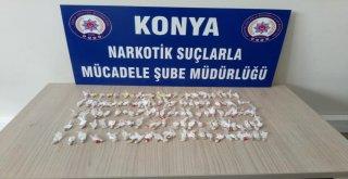 Konyada Uyuşturucu Operasyonu: 13 Gözaltı