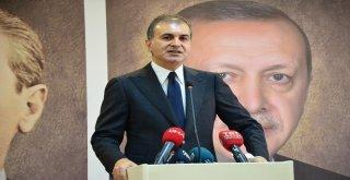 """Ak Parti Sözcüsü Çelik: """"Türkiyeyi Tehdit Etmek Kimsenin Haddine Düşmez"""""""