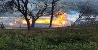 Kastamonuda Çıkan Yangında Bir Ev Kül Oldu