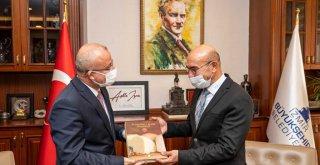 Türkiye Kent Konseyleri Birliği'nden Tunç Soyer'e ziyaret