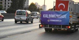Zeydan Karalar, 'İzmir'de siyaset yok, yaraları sarma, acıları paylaşma var.'