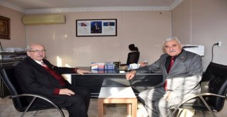 Başkan Albayraktan Çerkezköy İlçesi Muhtarlarına Ziyaret