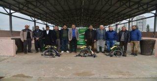 Büyükşehirden Çiftçilere Badem Soyma Makinesi