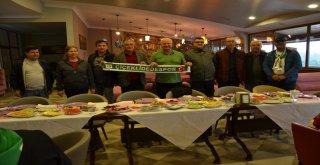 Mutludan, Çiçeklidedespor Voleybol Takımına Kahvaltı