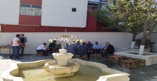Kaymakam Şahin Çay Bahçesinin Açılışını Gerçekleştirdi