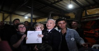 Gençlerden Bozbeye: Destek Olma Sırası Bizde