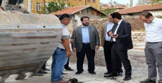 Başkan Yazgı İçme Suyu İsale Hattı Çalışmalarını İnceledi