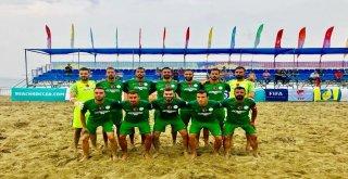Erciş Belediye Spor Plaj Futbol Takımı Türkiye Şampiyonu Oldu