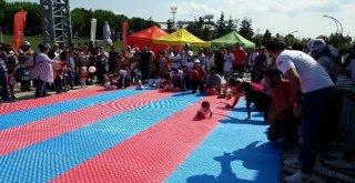 Emekleme Olimpiyatında Bebekler Birinci Olmak İçin Yarıştı
