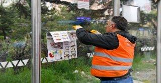 Ankara Zabıtasından Afiş Temizliği…