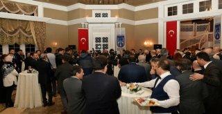 Başkan Tunadan Atatürkün Ankaraya Gelişinin 99.yılı  Nedeniyle Resepsiyon