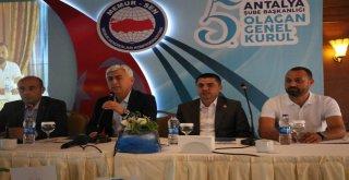Sağlık-Sen Antalya Şubesinin 5.olağan Genel Kurul Toplantısı