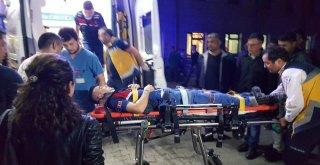 Kazaya Giden Askeri Araç Devrildi: 4 Asker Yaralandı