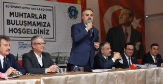 Mustafakemalpaşa'ya Başkan Aktaş sözü