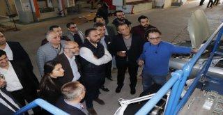 Çelik Kümelenme Projesi İçin Saha Ziyaretleri Devam Ediyor